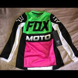 Youth Fox Jersey size YS